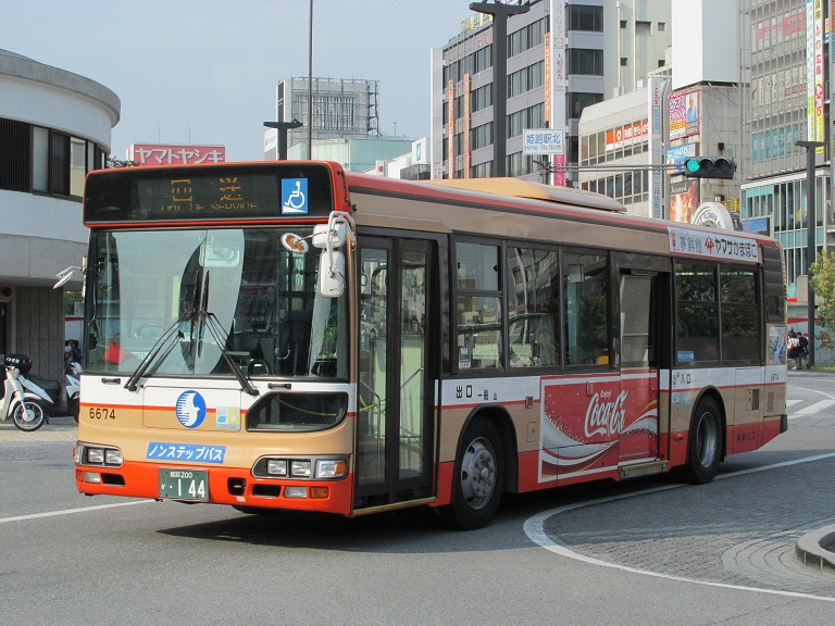[2016年の夏][姫路市] 神姫バス Phot1139