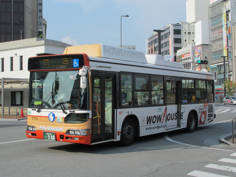 [2016年の夏][姫路市] 神姫バス Phot1147
