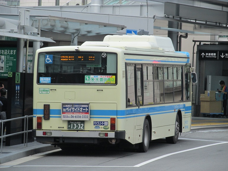 [2016年の夏][大阪市] 大阪市バス Phot1208
