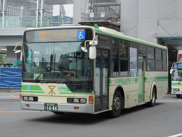 [2016年の夏][大阪市] 大阪市バス Phot1217