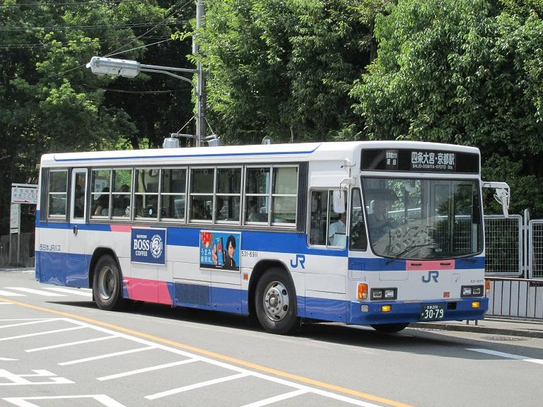 [2016年の夏][京都市] 西日本JRバス Photo690