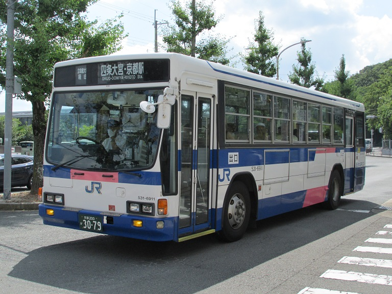 [2016年の夏][京都市] 西日本JRバス Photo691