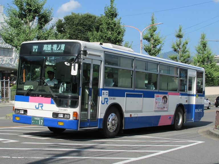 [2016年の夏][京都市] 西日本JRバス Photo695