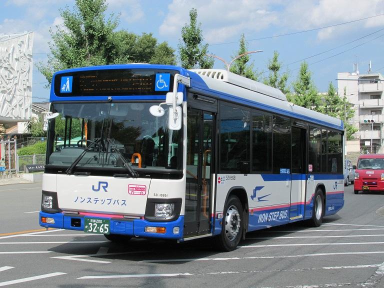 [2016年の夏][京都市] 西日本JRバス Photo696