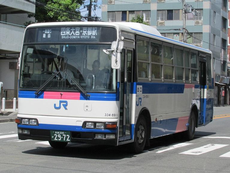 [2016年の夏][京都市] 西日本JRバス Photo769