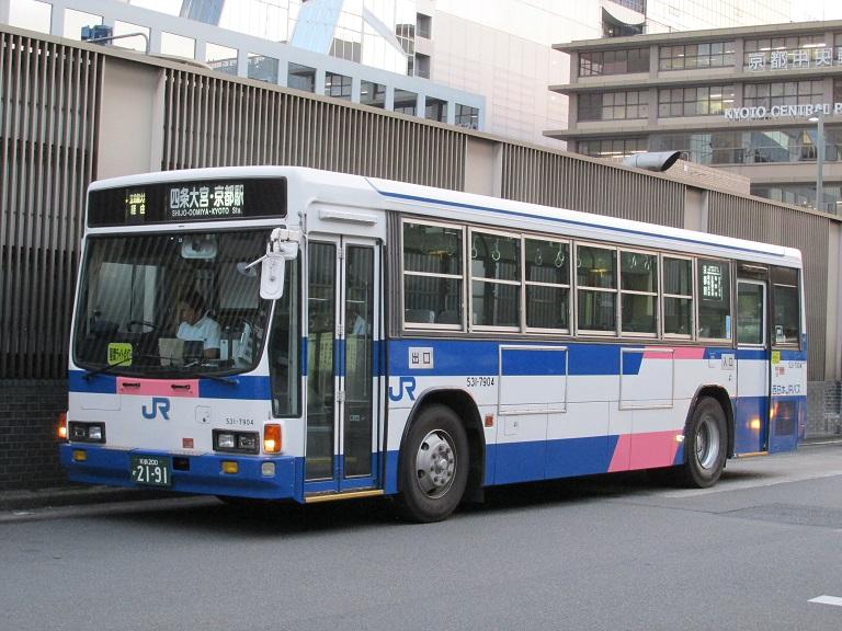 [2016年の夏][京都市] 西日本JRバス Photo770