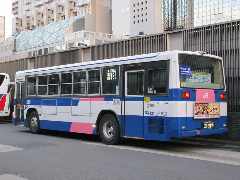 [2016年の夏][京都市] 西日本JRバス Photo771