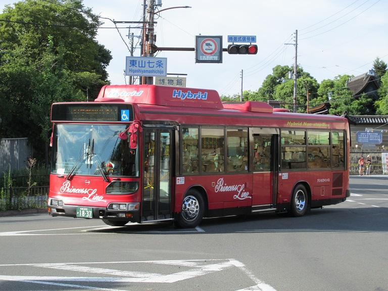 [2016年の夏][京都市] 京都急行バス Photo778