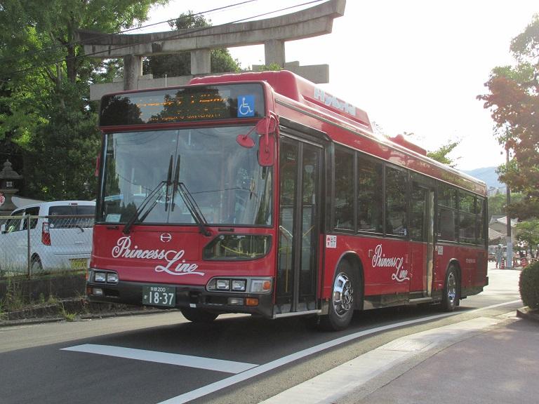 [2016年の夏][京都市] 京都急行バス Photo780