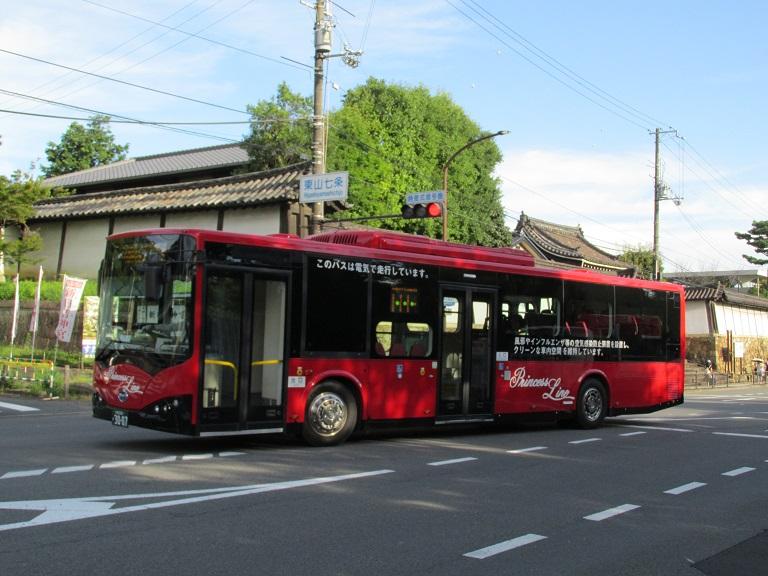 [2016年の夏][京都市] 京都急行バス Photo783