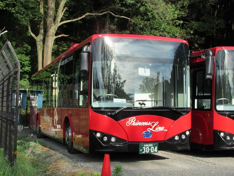 [2016年の夏][京都市] 京都急行バス Photo796