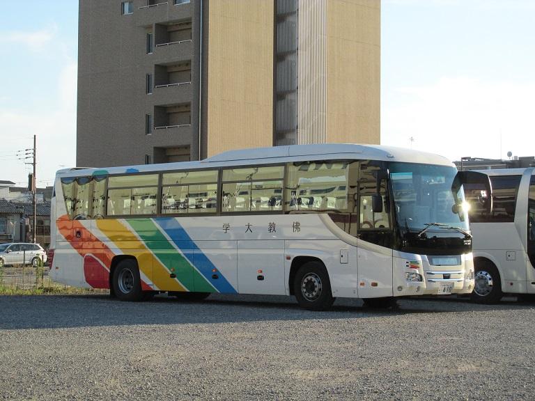 [2016年の夏][京都市] 佛教大学のバス Photo799