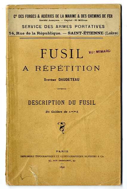 Précision d'un mousqueton Berthier - Page 2 Daudet11