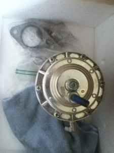 Turbonetics 45mm external wastegate & NX 10 lb. empty nitrous bottle Wasteg13