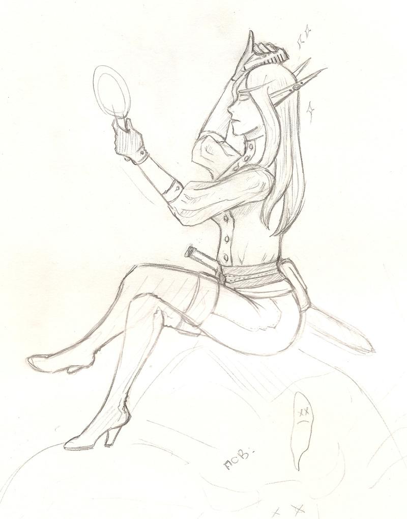 Gribouillis et autres doodles de Kheran Merhyl12