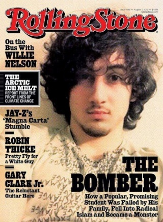 "Rolling Stones Cover Photo of Boston Bomber Sparks Outrage From Metal Band ""Disturbed"" Boston10"