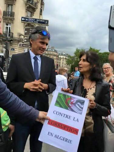 Devant l'appartement de celui qui fait tout pour saboter le capitaine de l'industrie algérienne Rebrab qui emploie plus 20000 algériens 115