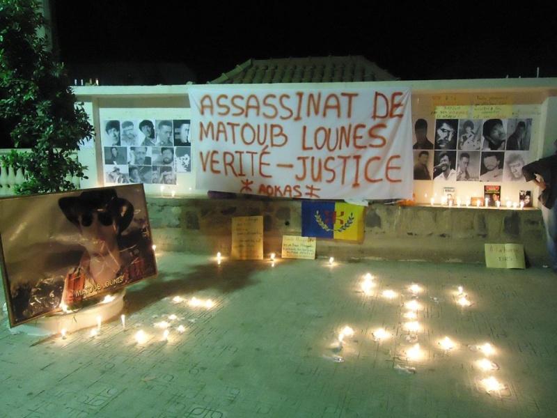 Allumage de Bougies à Aokas le Samedi 25 juin à Aokas à la mémoire de Matoub Lounes  174
