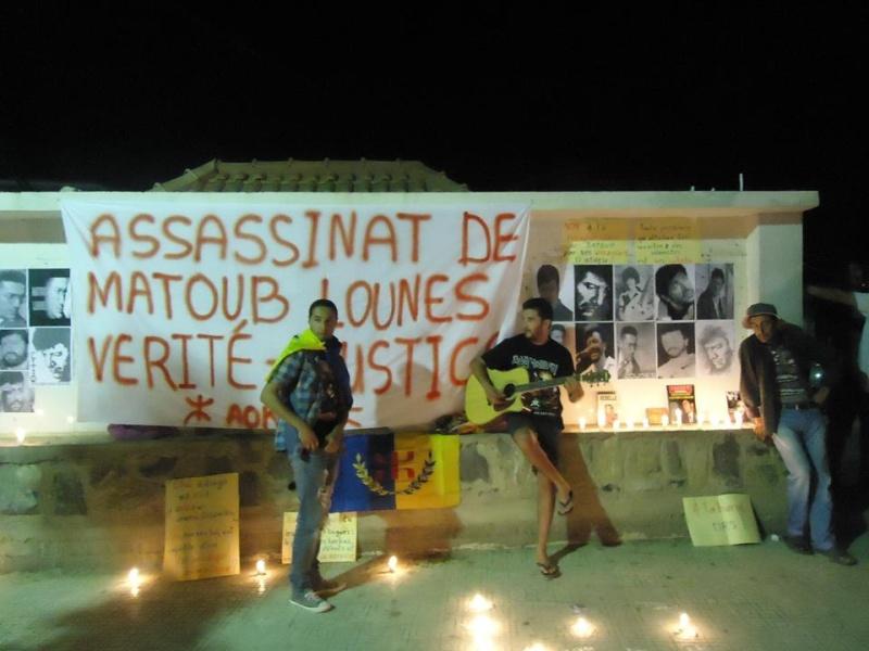 Allumage de Bougies à Aokas le Samedi 25 juin à Aokas à la mémoire de Matoub Lounes  214