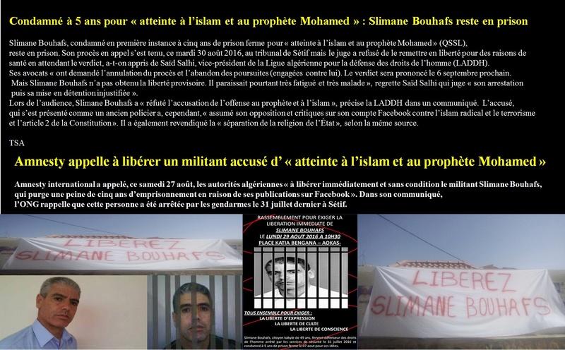 Rassemblement pour exiger la libération immédiate de Slimane Bouhafs à Aokas  - Page 2 Bouhaf10