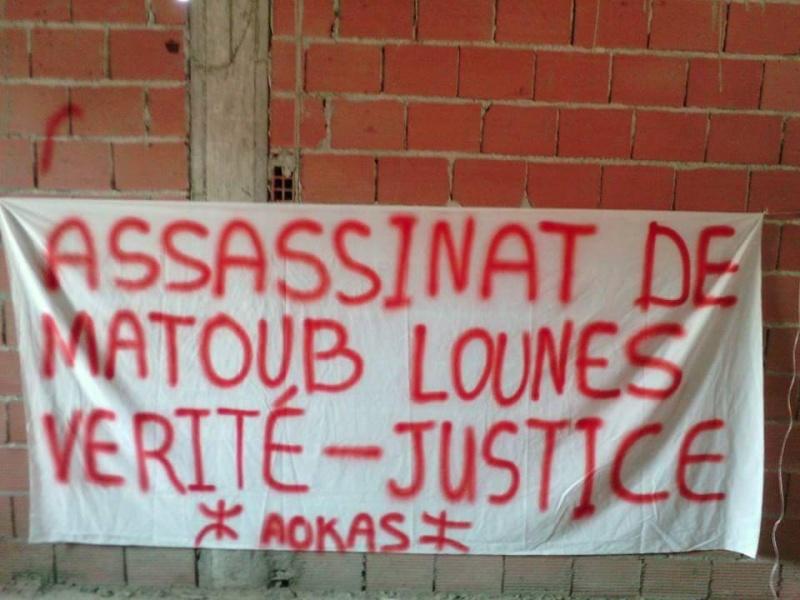 Allumage de Bougies à Aokas le Samedi 25 juin à Aokas à la mémoire de Matoub Lounes  Matoub11