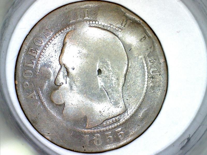 Napolèon III de 1855 avec inscription gravée? 1855_210