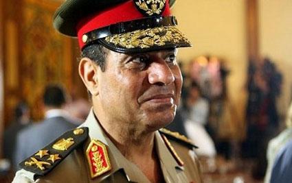 Abdelfattah assissi Le militaire qui a isolé Mursy le president d'Egypte Egypte10