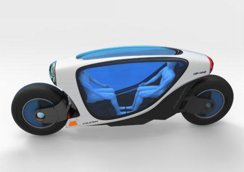 Après les voitures autonomes, les motos dans le pipe-line ? Cyclot10