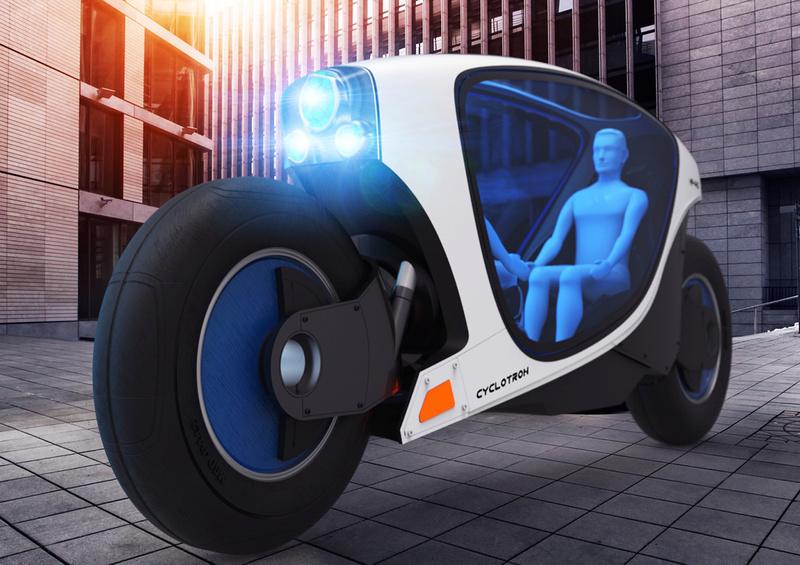 Après les voitures autonomes, les motos dans le pipe-line ? Cyclot11