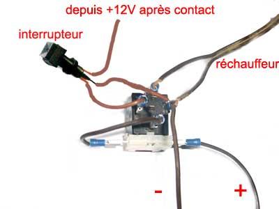 R solu aide aux branchement feux relais inter voyant - Comment tester un interrupteur ...