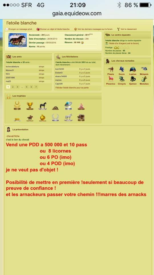 Liste Noire (Arnaqueurs, voleurs...) 13179210