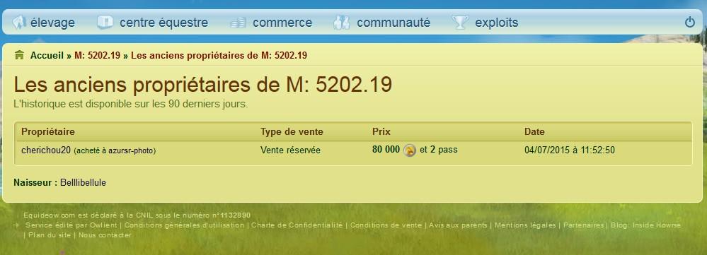 Liste Noire (Arnaqueurs, voleurs...) Cheval13