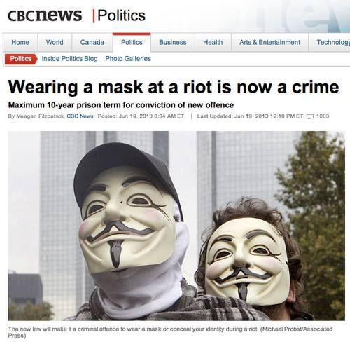 No masks during a protest? FUCK THAT 10004910