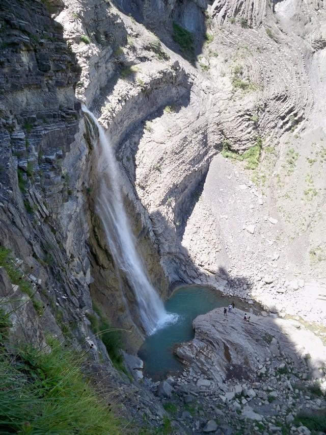 Vía Ferrata: sábado 9 de julio 2016 - Cascada del Sorrosal (Pirineo Oscense) 014_ca11
