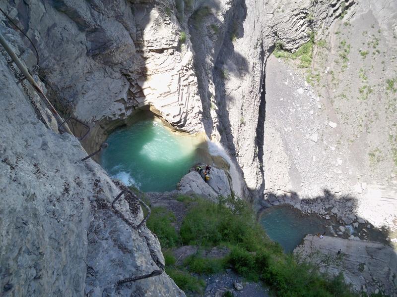 Vía Ferrata: sábado 9 de julio 2016 - Cascada del Sorrosal (Pirineo Oscense) 016_ca10
