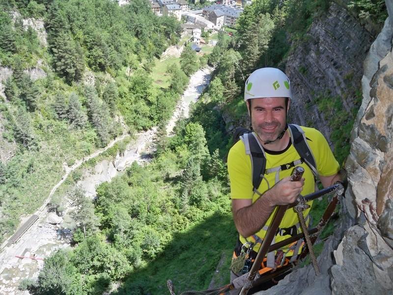 Vía Ferrata: sábado 9 de julio 2016 - Cascada del Sorrosal (Pirineo Oscense) 017_ra10