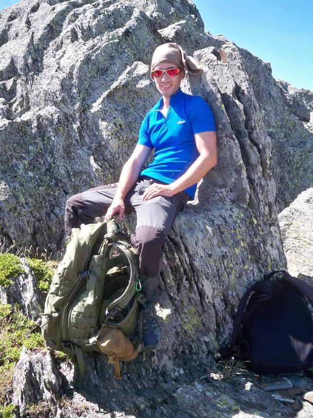 Montañismo: sábado 30 de julio 2016 - Cresta del Dragón y Pico Atalaya (Ayllón) 019_pa10
