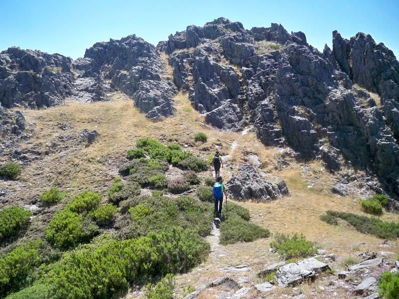 Montañismo: sábado 30 de julio 2016 - Cresta del Dragón y Pico Atalaya (Ayllón) 020_lo10
