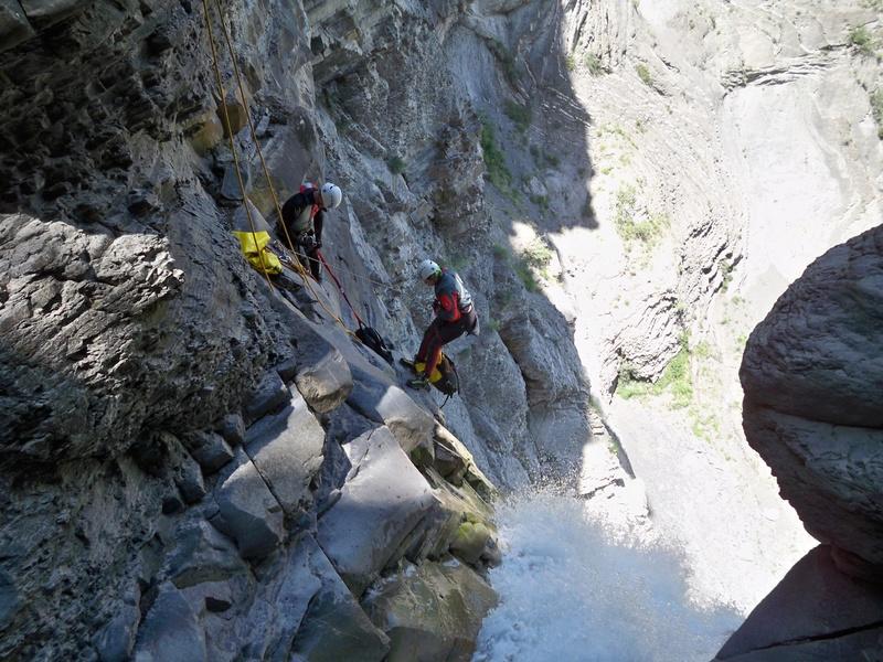 Vía Ferrata: sábado 9 de julio 2016 - Cascada del Sorrosal (Pirineo Oscense) 022_ba10