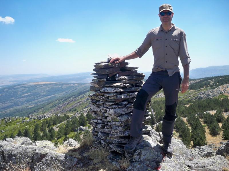 Montañismo: sábado 30 de julio 2016 - Cresta del Dragón y Pico Atalaya (Ayllón) 023_ra10