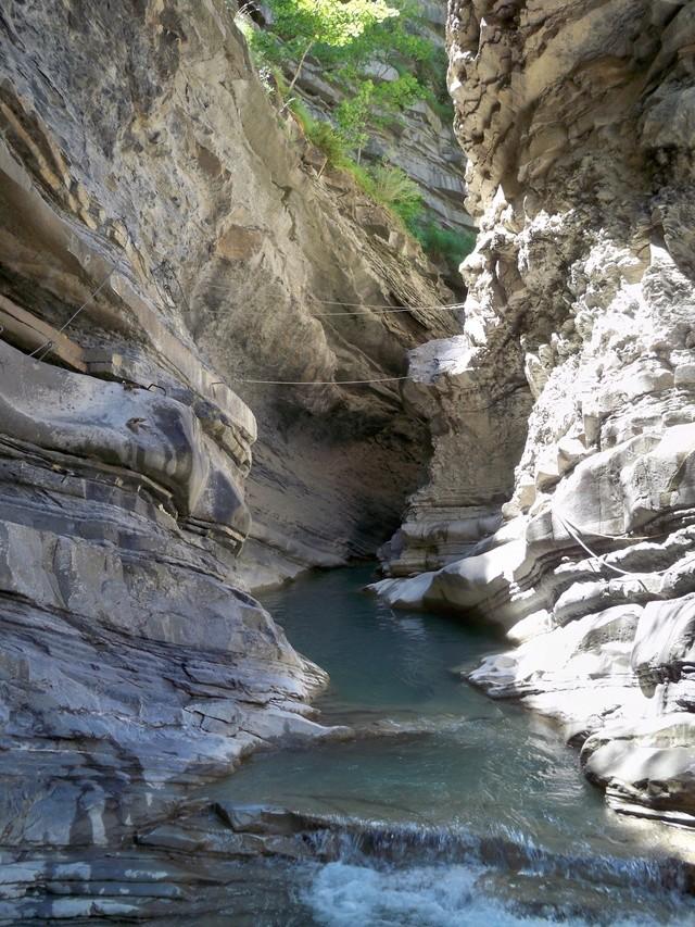 Vía Ferrata: sábado 9 de julio 2016 - Cascada del Sorrosal (Pirineo Oscense) 025_ca10