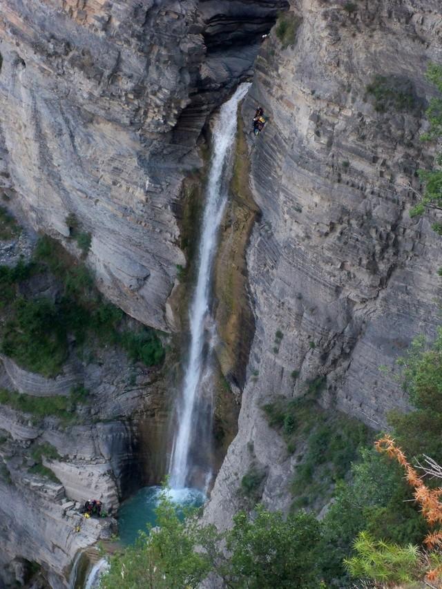 Vía Ferrata: sábado 9 de julio 2016 - Cascada del Sorrosal (Pirineo Oscense) 033_ca10