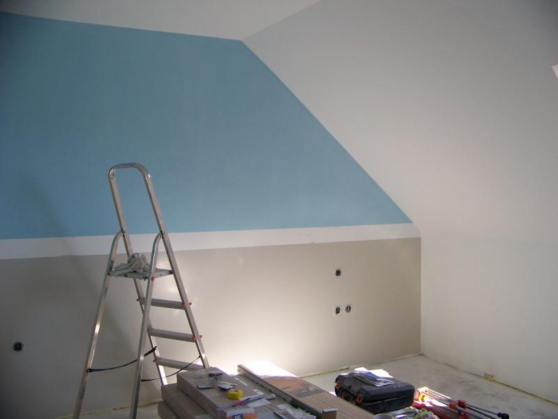 Idee Peinture Pour Chambre Mansardee