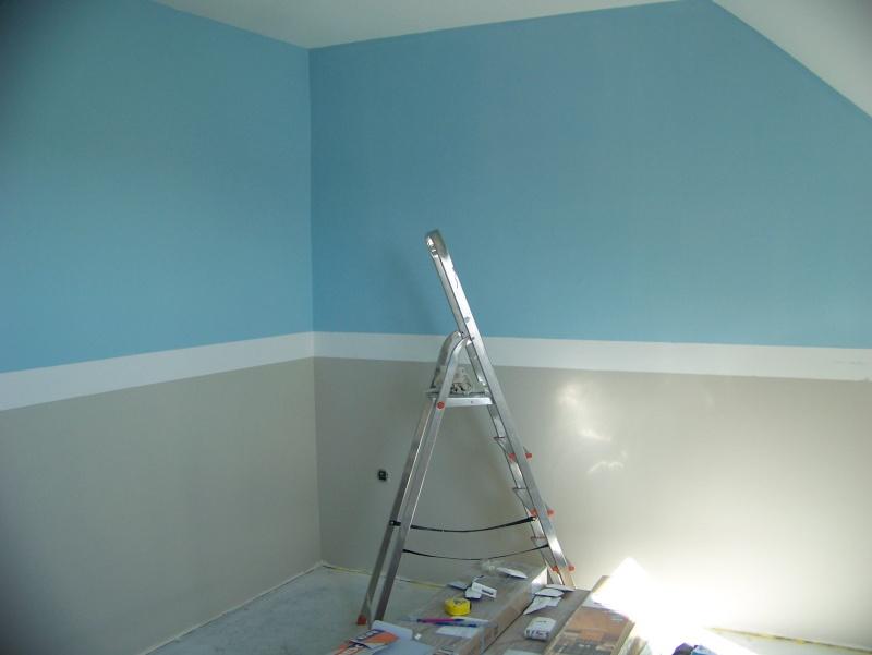 comment peindre les murs avec 4 couleurs. Black Bedroom Furniture Sets. Home Design Ideas
