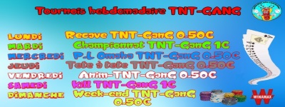 Kill-TNT-Gang buy-in 1€ a 21h sur WINAMAX le 03/09 2b14d615