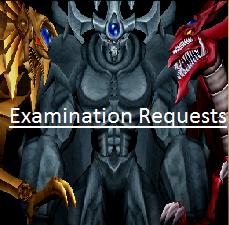 Examination Requests