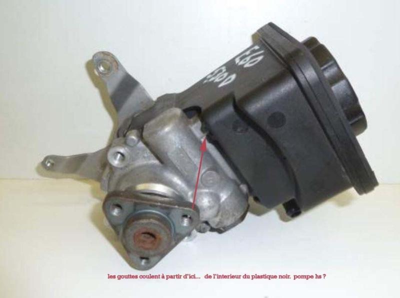 [ BMW e46 330d 204cv an 2003 ] fuite pompe de servo-direction P12