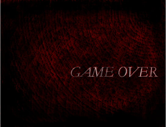 Quelques Game Over Gameov10