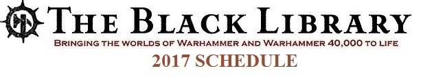 Programme des publications The Black Library 2017 - UK 201710