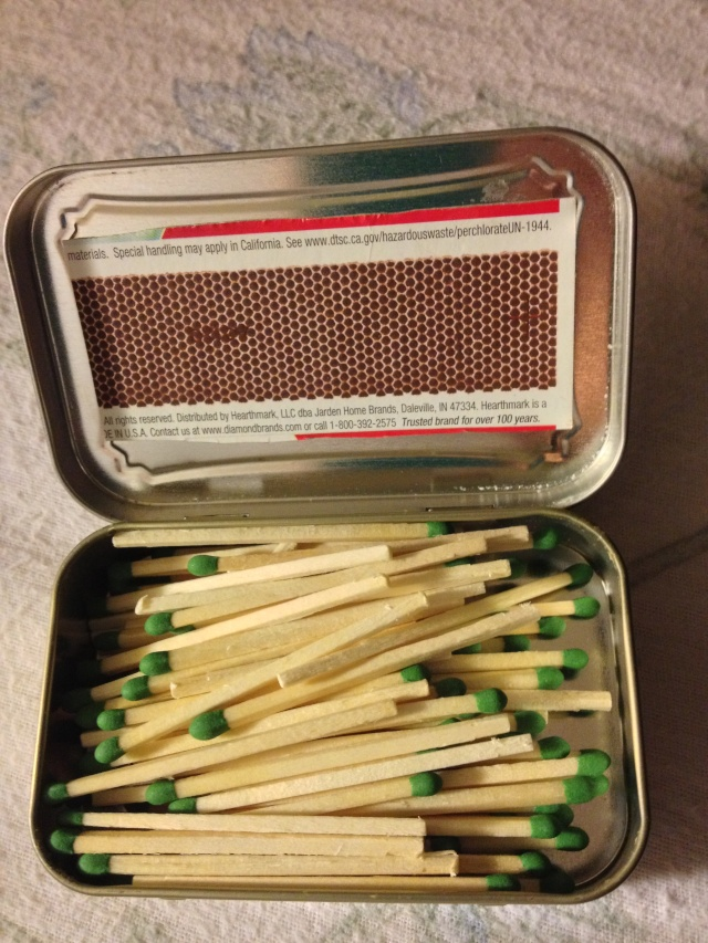 Matches or a pipe lighter Photo_24
